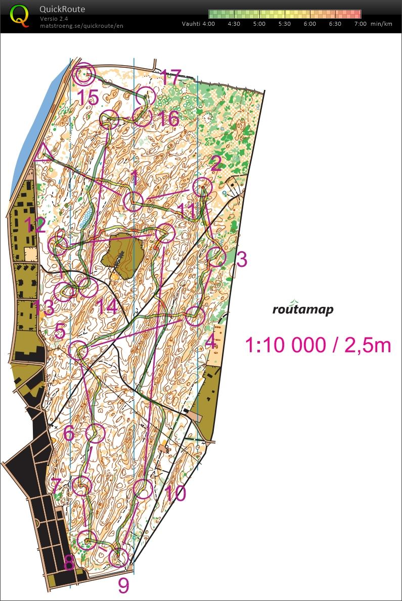 My digital orienteering map archive :: Double threshold part 2