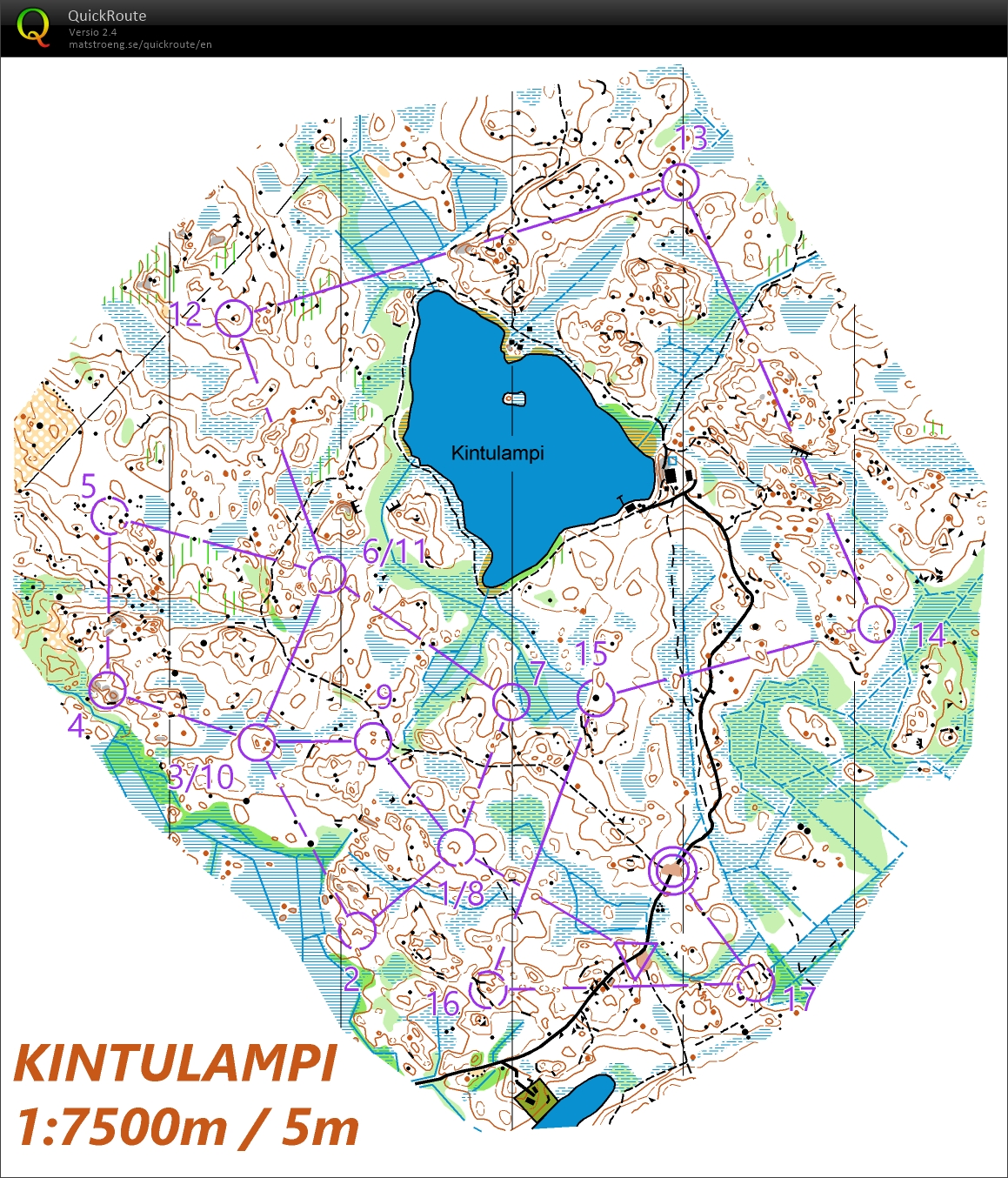 Kintulammen one-man-relay (23/04/2020)